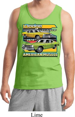 Image of Mens Dodge Tanktop Dodge Dart Tank Top