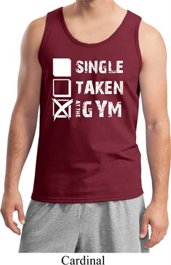 Image of Mens Fitness Tanktop Single Taken At The Gym Tank Top