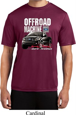 Image of Mens Ford Shirt F-150 4X4 Off Road Machine Moisture Wicking Shirt