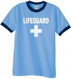 Distressed | Lifeguard | T-Shirt | Shirt | Ring | Tee | Men