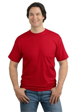 Image of Tall T-shirt - Mens Red