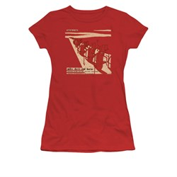 Image of Miles Davis Shirt Juniors Davis And Horns Red T-Shirt
