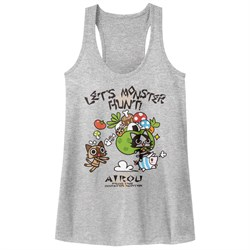 Image of Monster Hunter Juniors Tank Top Airou Hunter Athletic Heather Racerback