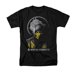 Mortal Kombat Shirt Scorpion Black T-Shirt