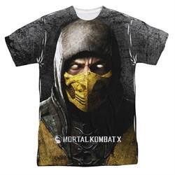Mortal Kombat Shirt Scorpion Sublimation Shirt
