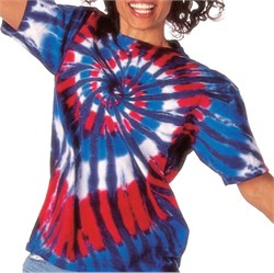 Image of Tie Dye T-shirt - New Glory Spiral Adult Tee