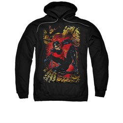Nightwing DC Comics Hoodie Sweatshirt Nightwing #1 Black Adult Hoody Sweat Shirt