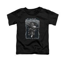 Nightwing DC Comics Shirt Biker Kids Black Youth Tee T-Shirt