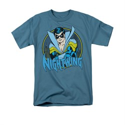 Nightwing DC Comics Shirt Nightwing 2 Adult Slate Tee T-Shirt