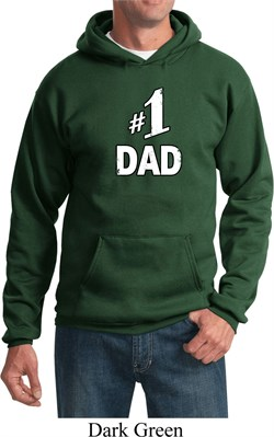 Image of Number 1 Dad Hoodie