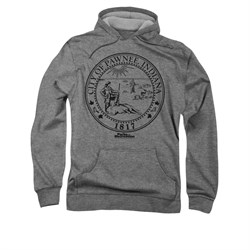 Parks And Recreation Hoodie City Seal Silver Sweatshirt Hoody