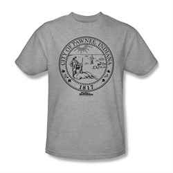 Parks And Recreation Shirt City Seal Silver T-Shirt