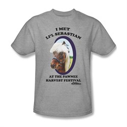 Image of Parks And Recreation Shirt Lil Sebastian Athletic Heather T-Shirt