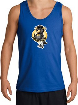 PENGUIN POWER Athletic Gym Workout Adult Tanktop - Royal