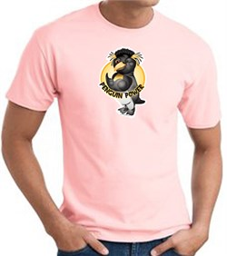 PENGUIN POWER Athletic Gym Workout T-shirt - Pink
