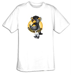 Image of Workout Clothing - Penguin Power Gym Tee