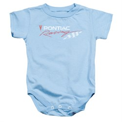 Image of Pontiac Baby Romper Racing Light Blue Infant Babies Creeper