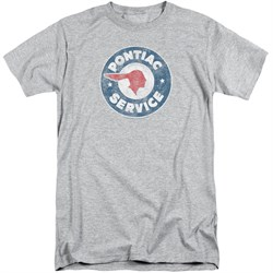 Pontiac Shirt Vintage Service Sports Grey Tall T-Shirt