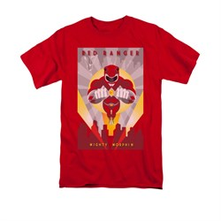 Power Rangers Shirt Red Ranger Red T-Shirt