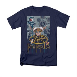Power Rangers Shirt Rita Ranger Navy T-Shirt