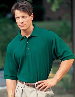 Men's 100% Cotton Tall Sizes Signature Golf Sport Shirt