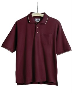Image of Men's Conquest Tall Sizes Sports Golf Shirt With Pocket