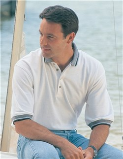 Image of Men's Tall Sizes 100% Cotton Sterling Golf Sport Shirt