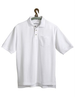 Image of Men's Tall Sizes Easy Care Engineer Golf Sport Shirt With Pocket