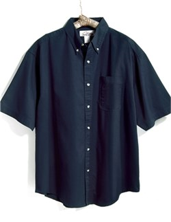 Image of Premium Quality Men's Tall Sizes Easy Care Recruit Short Sleeve Shirt