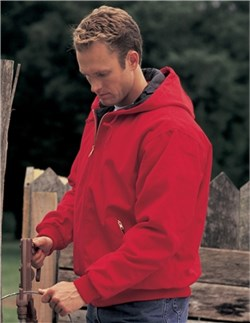 Image of Men's Tall Sizes Heavyweight Cotton Timberline Hooded Jacket