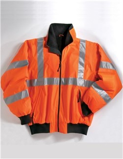 Image of Men's Tall Sizes Heavyweight Protective Jacket With 3M Reflective Tape