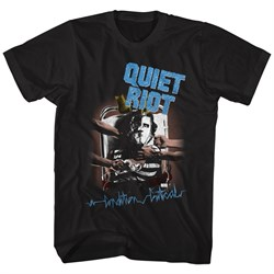 Image of Quiet Riot Shirt Critical Condition Black T-Shirt