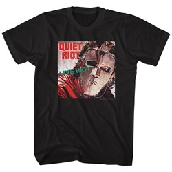 Image of Quiet Riot Shirt Live Riot Black T-Shirt