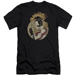 Rai Valiant Comics Slim Fit Shirt Japanese Print Black Tee T-Shirt