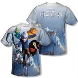 Image of Rise Of The Guardians Together Now Sublimation Kids Shirt Front/Back Print