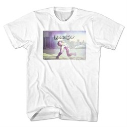 Robocop Shirt Ready To Go White T-shirt
