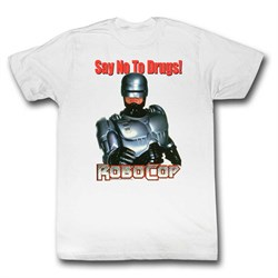 Robocop | T-Shirt | Shirt | White | No