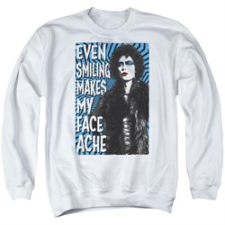 Sweatshirt   Picture   Adult   Shirt   White   Face