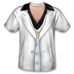 Image of Saturday Night Fever Leisure Suit Sublimation Shirt