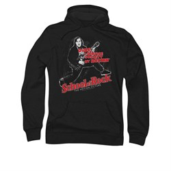 School Of Rock Hoodie Sweatshirt Rockin Adult Hoody Sweat Shirt