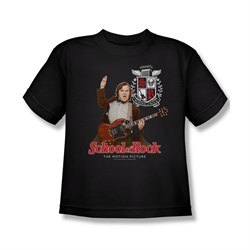 School Of Rock Shirt Kids The Teacher Is In Black Youth Tee T-Shirt