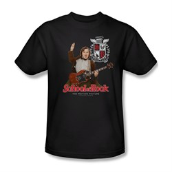 School Of Rock Shirt The Teacher Is In Adult Black Tee T-Shirt