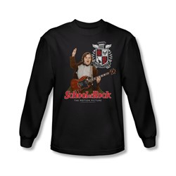 School Of Rock Shirt The Teacher Is In Long Sleeve Black Tee T-Shirt
