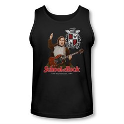 School Of Rock Tank Top The Teacher Is In Black Tanktop