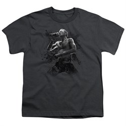 Image of Scott Weiland Kids Shirt On Stage Charcoal T-Shirt