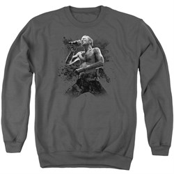 Image of Scott Weiland Sweatshirt On Stage Adult Charcoal Sweat Shirt