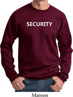 Image of Security Guard Sweatshirt