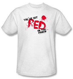 T-Shirt | Movie | Adult | Shirt | White | Dead | You | Tee | Red