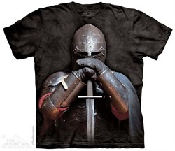 Image of Solem Knight Shirt Tie Dye Adult T-Shirt Tee