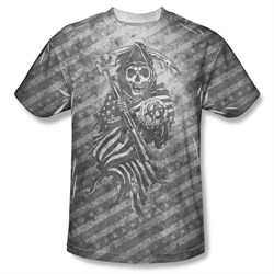 Sons Of Anarchy Shirt Reaper Sublimation Shirt